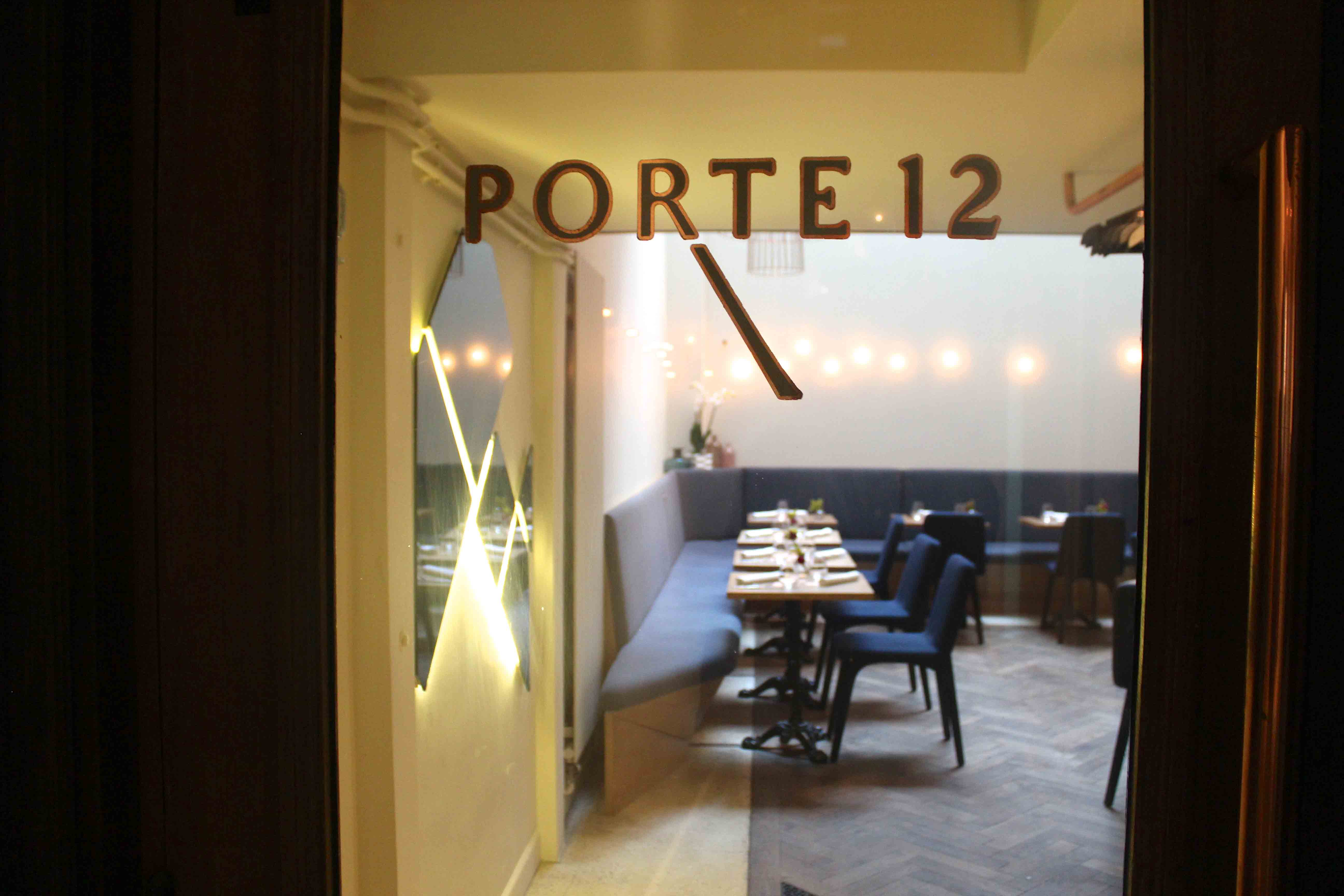 Porte 12 k a n n d i d for Porte 12 restaurant paris