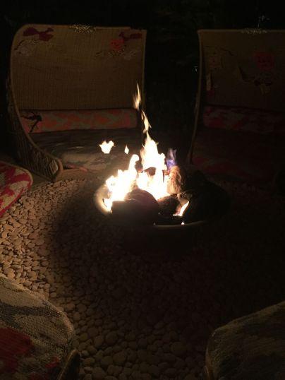 The Standard bonfire
