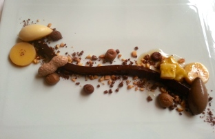 Chocolate and Banana Dessert