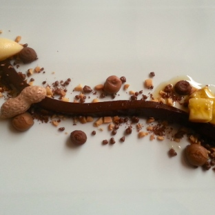 Chocolate and Banana Dessert