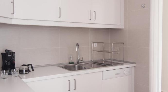 flattered kitchen
