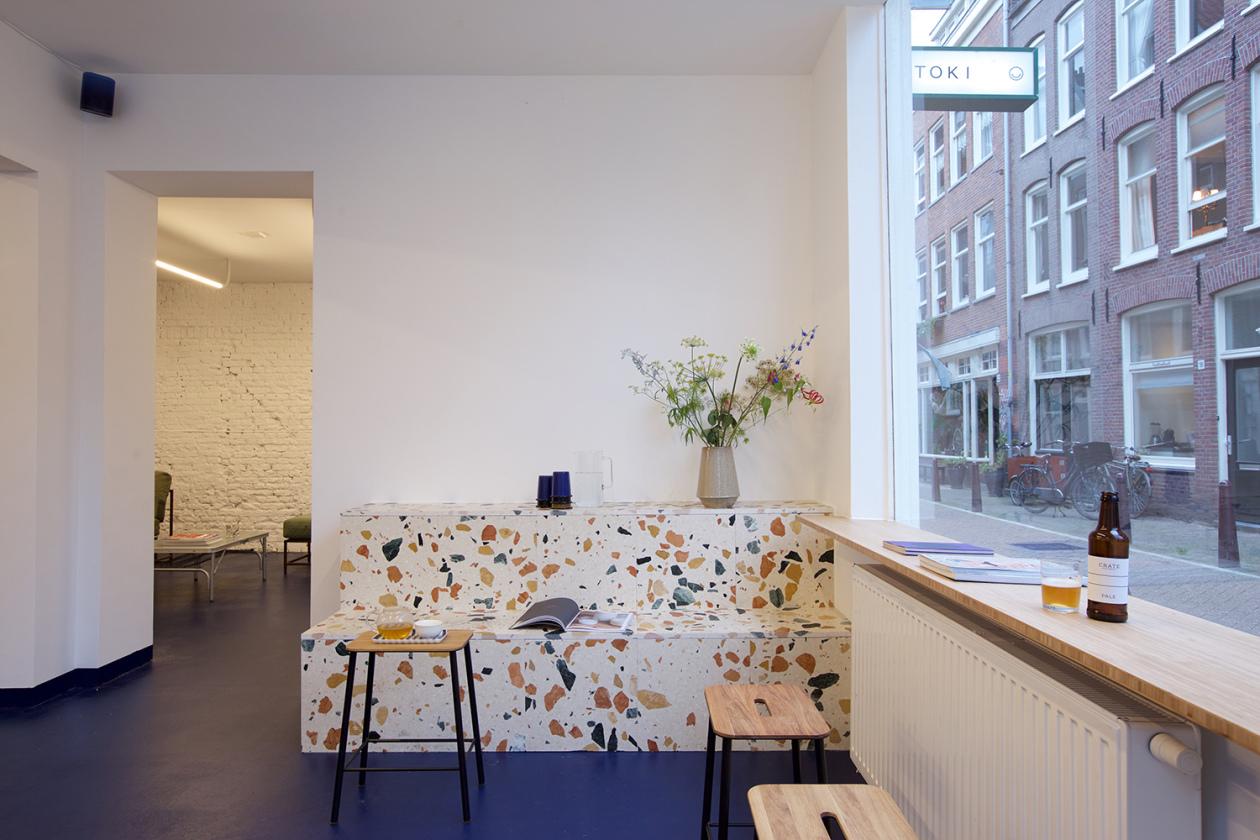 toki-amsterdam bench