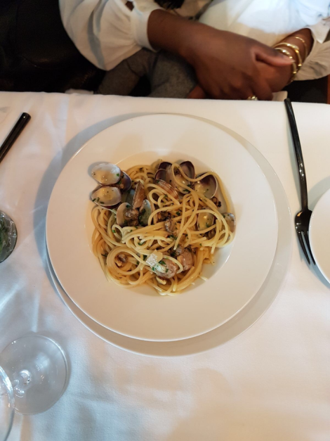 il pampero vongole